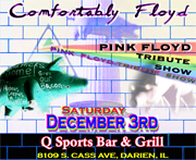 Pink Floyd tribute comfortably floyd q sports illinois